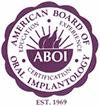American Board of Oral Implantology logo