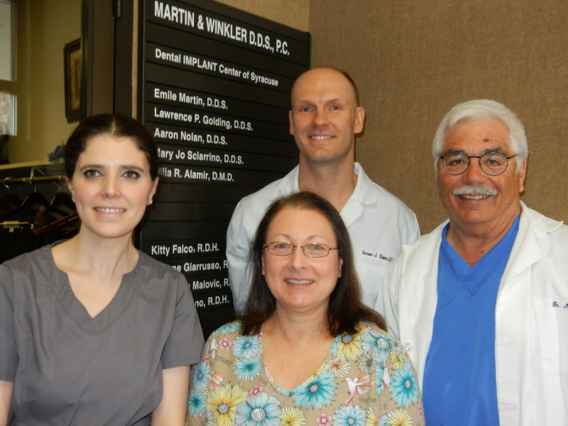 Syracuse Dentists Dr. Martin & Dr. Winkler at their Auburn, NY Dental Practice